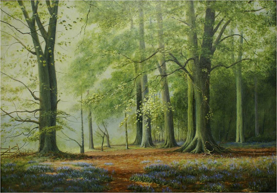 Bluebell Woods by Ken Henley